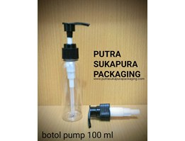 Jual Botol Pump/Pompa 100 ml