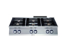 Jual Electrolux 700XP 6-Burner Gas Boiling Top Modular Cooking Range Line