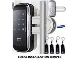 Jual DIGITAL GLASS LOCK D 510 SAMSUNG