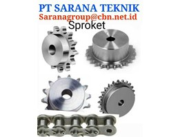 SPROCKET GEAR CHAIN PT ALVA PRIMA BUBUT SPROCKET HITACHI NIKKEN RENOLD