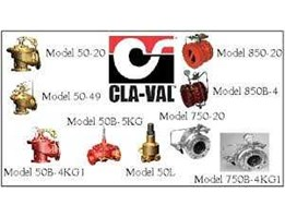Jual Claval automatic control valves