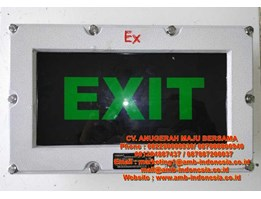 Jual Emergency Exit Ex Proof HELON BBD51 LED Exit Signal Lamp