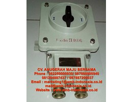 Jual Rotary Switch On/Off Ex Proof HRLM BHZ51 Rotary Switch