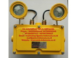 Jual Lampu Emergency Explosion Proof Warom BAJ52-20 Double Head