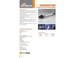 Jual Lampu Led Explosion Proof Qinsun M1 LED Linear Portable Lamp
