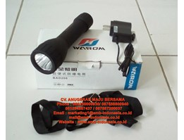 Senter Led Ex Proof Rechargeable Warom BAD 206 Torch Lamp