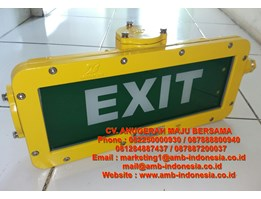 Jual Lampu Led Emergency Ex Proof Warom Bayd Exit Signal