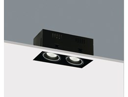 LED Ceiling grille recessed light