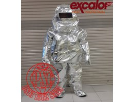 Jual Aluminized Fire Suits Heat Protection 53EXB20 Excalor