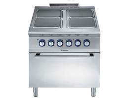 Jual Electrolux 4 Electric Hot Square Plate Range on Electric Oven 900XP
