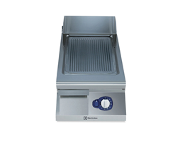 Jual Electrolux Half Module Gas Fry Top Ribbed Sloped Mild Steel 900XP