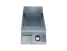 Jual Electrolux Half Module Gas Fry Top 900XP Ribbed Plate Non-thermostatic
