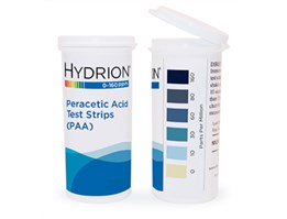 HYDRION Peracetic Acid Test Paper 0-160 PPM