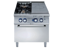 Jual Electrolux Gas Solid Top on Gas Oven 900XP W/ 2 Burners - 391020