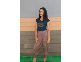 Jual Celana Yoga Congo Pants Medium Coklat / Yoga Shop Bali
