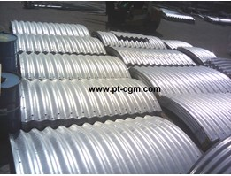 Jual Corrugated Steel Pipe Armco Type Multi Plate Pipe Arches