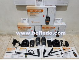 Jual HT ( Handy Talkie ) WEIERWEI UV-888 Dual Band 10 Watt