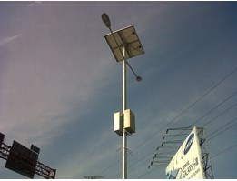 TIANG LAMPU LED SOLAR CELL