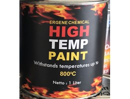 Jual CAT TAHAN PANAS 800 derajat - High Temperature - Heat Resistant Paint