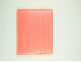 Jual DOMPET KARTU CARD HOLDER CARD WALLET DC 331 PEACH