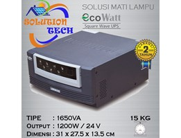 Inverter EcoWatt 1650va Luminous Pure Square Wave UPS
