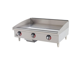 """Gas Griddle Top Table 24"""" Type WJRG24"""