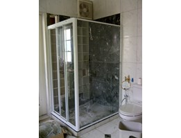 Shower Screen Kamar mandi,shower box, shower frameless