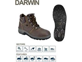 Jual BATA INDUSTRIALS SAFETY SHOES PROJECT DARWIN BROWN