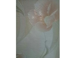 Jual Flowers Wallpaper Creme