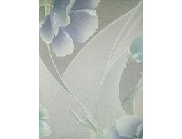 Jual Flowers Wallpaper Soft Blue