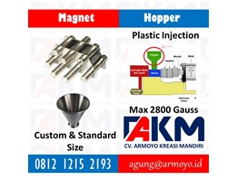 Jual Magnet Hopper Plastic Injection Molding