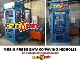 Jual MESIN PRESS BATAKO DAN PAVING