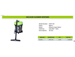 Jual Vacum cleaner kentaro 30 liter barang baru ready stock