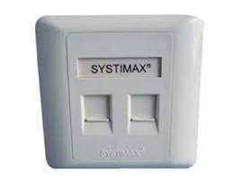 Jual FACE PLATE SYSTIMAX 2HOLE (108 168 469)