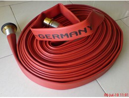 Jual Synthetic Rubber Fire Hose c/w Machino Coupling