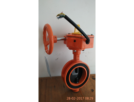 Jual Butterfly Valve c/w Tamper Switch