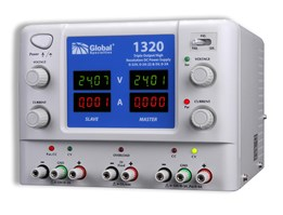 1320 TRIPLE OUTPUT HIGH RESOLUTION DC POWER SUPPLY:
