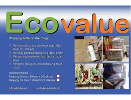Jual Ecovalue Wrapping&Stretching 50 cm x 200m Food/Non