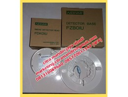 Smoke Detector Nohmi made in Japan type FDK01U dan fFZB01U