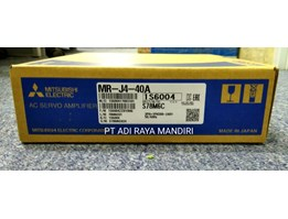 Jual MITSUBISHI Servo Amplifier MR-J4-10A
