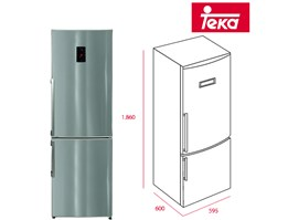 TEKA refrigerator & freezer 6 - 3- 1 NFE2 320 close