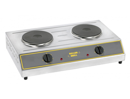 Jual Roller Grill Double Electric Boiling Top Model ELR 3
