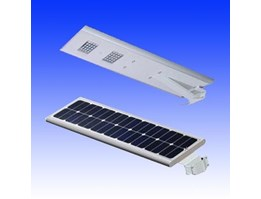 Jual Lampu Jalan PJU Solar Cell All In One 30W Panel Surya