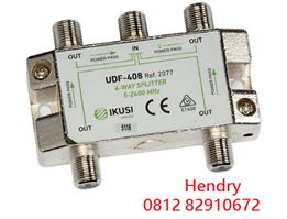 SPLITTER UDF-408 4 WAY Merk IKUSI Original