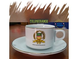 Jual Coffee set Logo