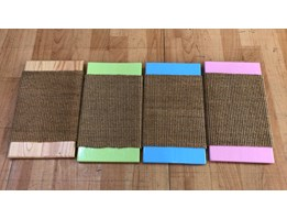 Cat Scratcher Pink,Natural,Green,Blue,Red