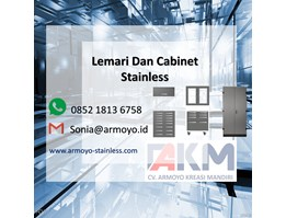 lemari stainless steel