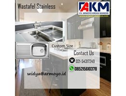 Jual Wastafel Stainless