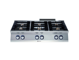 Jual Electrolux 700XP 6-Burner Gas Boiling Top 371004