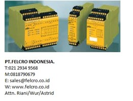 Jual Safety Relay Pilz| PT.Felcro Indonesia|0811.155.363